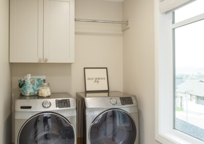 115 Ranchview Custom Home Laundry Room by Mulder Builders