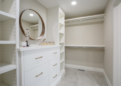 115 Ranchview Custom Home Closet by Mulder Builders