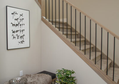 115 Ranchview Custom Home Staircase by Mulder Builders