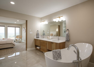 115 Ranchview Custom Home Ensuite Bathroom by Mulder Builders