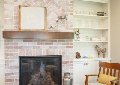 Jans Custom Home Fireplace by Mulder Builders