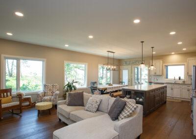 Jans Custom Home Open Concept by Mulder Builders