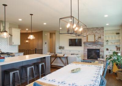 Jans Custom Home Dining Room by Mulder Builders