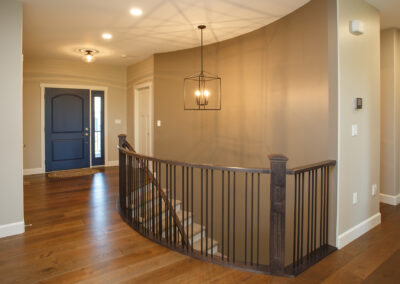 Jans Custom Home Staircase by Mulder Builders