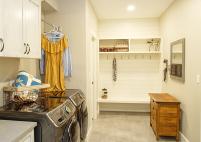 Jans Custom Home Laundry Room by Mulder Builders