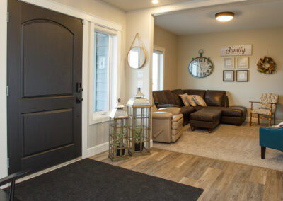 Redcliff Pancoast Custom Home Entry Way by Mulder Builders