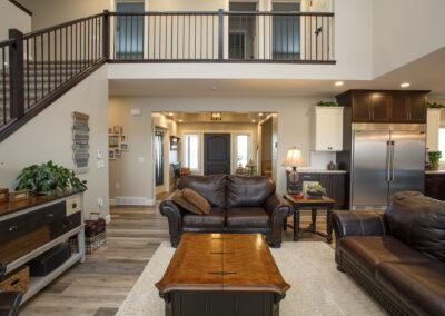 Redcliff Pancoast Custom Home Great Room by Mulder Builders