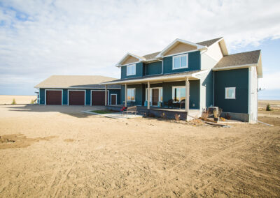 Redcliff Pancoast Custom Home Exterior by Mulder Builders