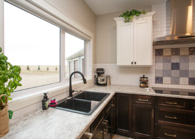 Redcliff Pancoast Custom Home Kitchen by Mulder Builders