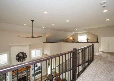 Redcliff Pancoast Custom Home Loft by Mulder Builders